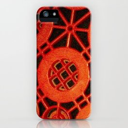 Simply red iPhone Case