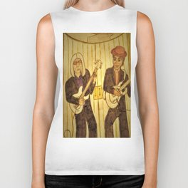 Tribute to Prince and Tom Petty Biker Tank