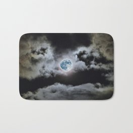 Blue Moon I Wonder Bath Mat