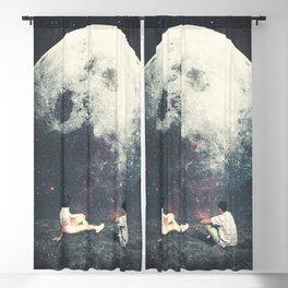 My Moon My Man My Love Blackout Curtain