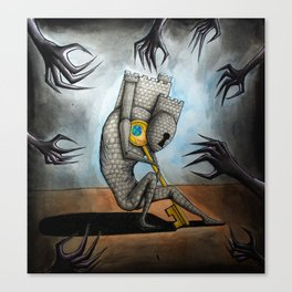 May Mental Monster: Schizophrenia Canvas Print