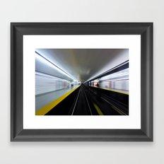Speed No 3 Framed Art Print