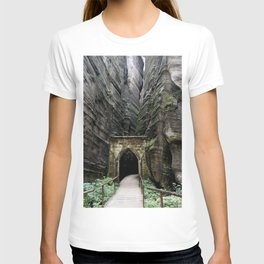 The gate to Adrspach T-shirt