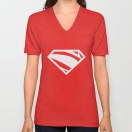 Superman Lives Unisex V-Neck