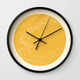 The Wormhole Wall Clock