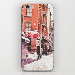 New York City Snow Soho iPhone Skin