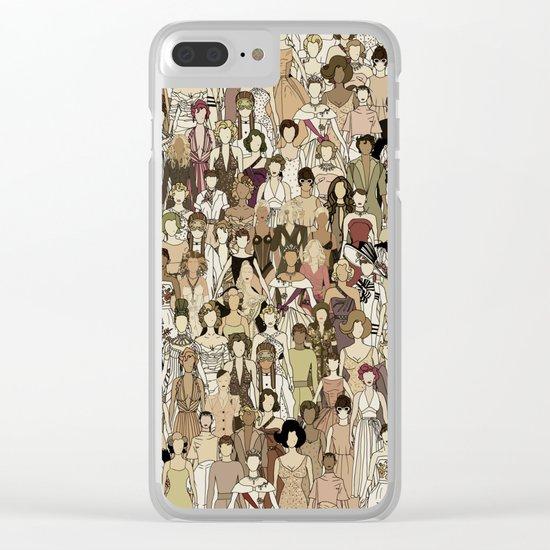 Little Women Clear iPhone Case