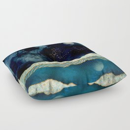 Indigo Sky Floor Pillow