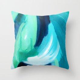 Cool Breeze Throw Pillow