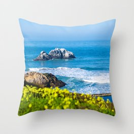 Sutro Baths- San Francisco  Throw Pillow