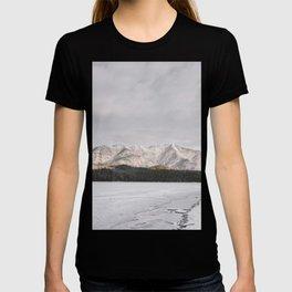Frozen Lake Views - Landscape Photography T-shirt