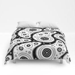 Black And White Paisley Comforters