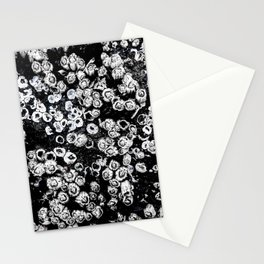 Black and White Barnacles Stationery Cards