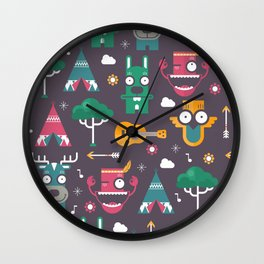 Woodland Animals | Season 1 Wall Clock