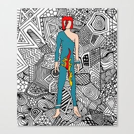 Heroes Fashion 8 Canvas Print