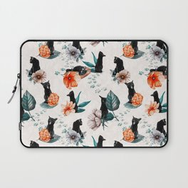 Black Cats for Luck Laptop Sleeve