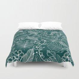 Tropical doodle Duvet Cover