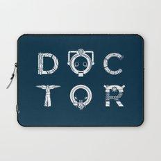 DOCTOR - clean tee print version Laptop Sleeve