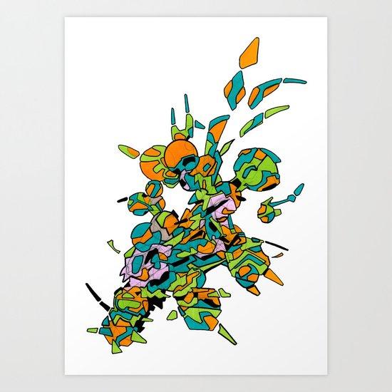 Hiva-01 Art Print