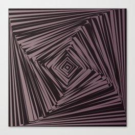 geometric optical illusion Canvas Print