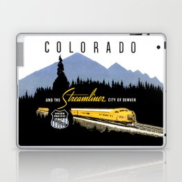 Union Pacific Train poster 1936 - Retouched Version Laptop & iPad Skin