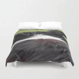 Rudy ~ Border Collie Duvet Cover