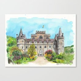 Inveraray Castle Canvas Print