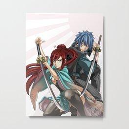 Swordsmen Metal Print