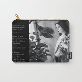 The Little Flower - St. Therese of Lisieux Carry-All Pouch