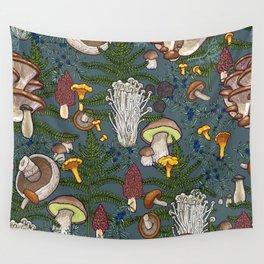 mushroom forest Wall Tapestry