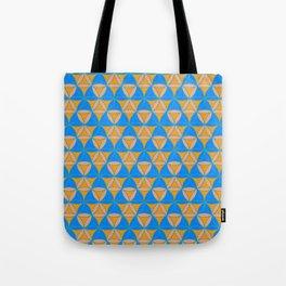 Magic Triad Pattern Tote Bag