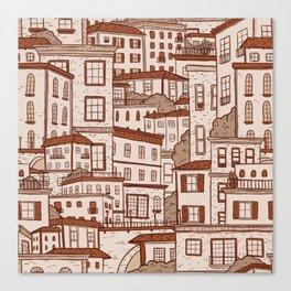 Urbana Terra Cotta Canvas Print