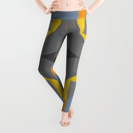 Charybdis - Colorful Decorative Abstract Art Pattern Leggings
