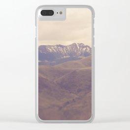Desert Vista Clear iPhone Case