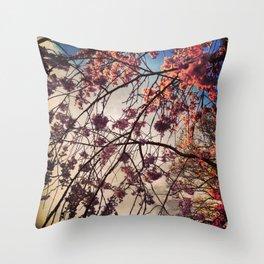 Azure Aware Throw Pillow