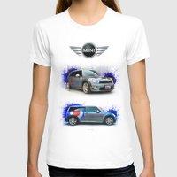 mini cooper T-shirts featuring Cars: Mini Cooper S by Urbex :: Siam