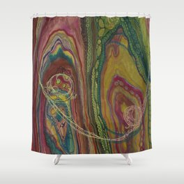 Sublime Compatibility (Intimate Reciprocity) Shower Curtain