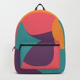 sun salutation Backpack