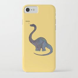 Dang Dino iPhone Case