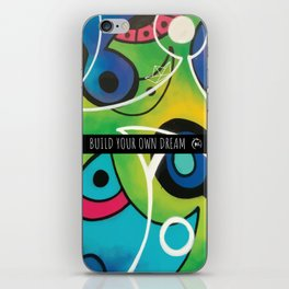 BUILD YOUR OWN DREAM ( GARDEN ) iPhone Skin