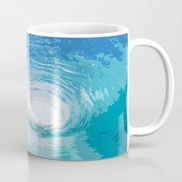 Within the Blue Ocean Waves Coffee Mug
