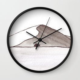 Dunes 1 - Namibia Wall Clock
