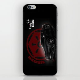 Project Vader iPhone Skin