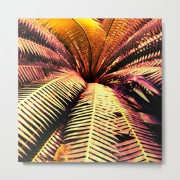 Tropical Night Delight Metal Print