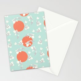 Koi fish pattern 005 Stationery Cards