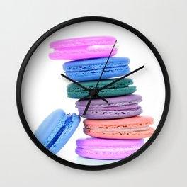 Macaroons Pastel Wall Clock