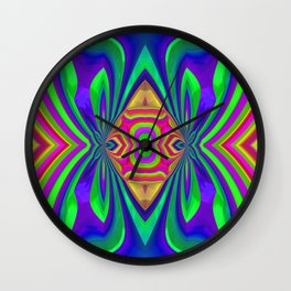 Ornamental design Wall Clock