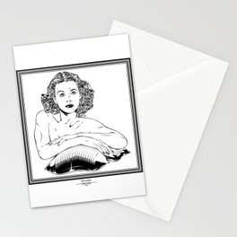 Hedy Lamarr Anniversary Stationery Cards