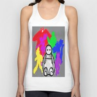 big hero 6 Tank Tops featuring Big Hero 6  by grapeloverarts
