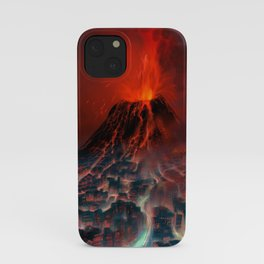 City of Fire iPhone Case